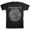 "DROPDEAD ""There Is No God: Grey"" Black T-Shirt"