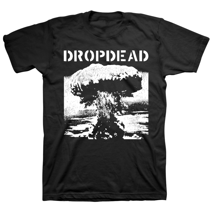 "DROPDEAD ""Bomb: Front"" Black T-Shirt"