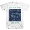 "HARM'S WAY ""Blinded"" White T-Shirt"