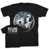 "KILLING THE DREAM ""Fractures: Face"" Black T-Shirt"
