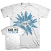 "KILLING THE DREAM ""Fractures: Flower"" White T-Shirt"