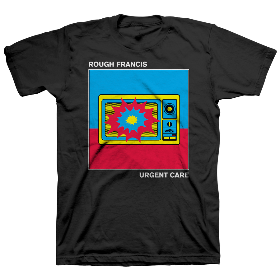 "ROUGH FRANCIS ""Urgent Care"" Black T-Shirt"