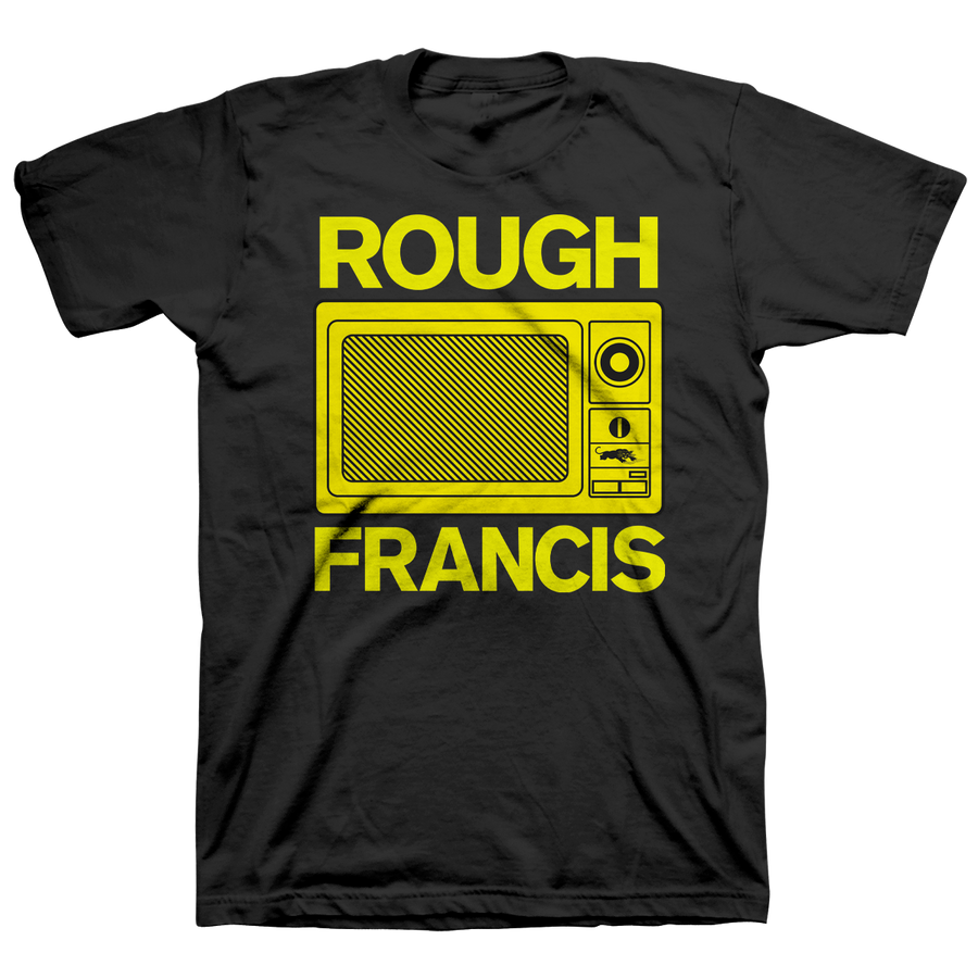 "ROUGH FRANCIS ""Microwave"" Black T-Shirt"