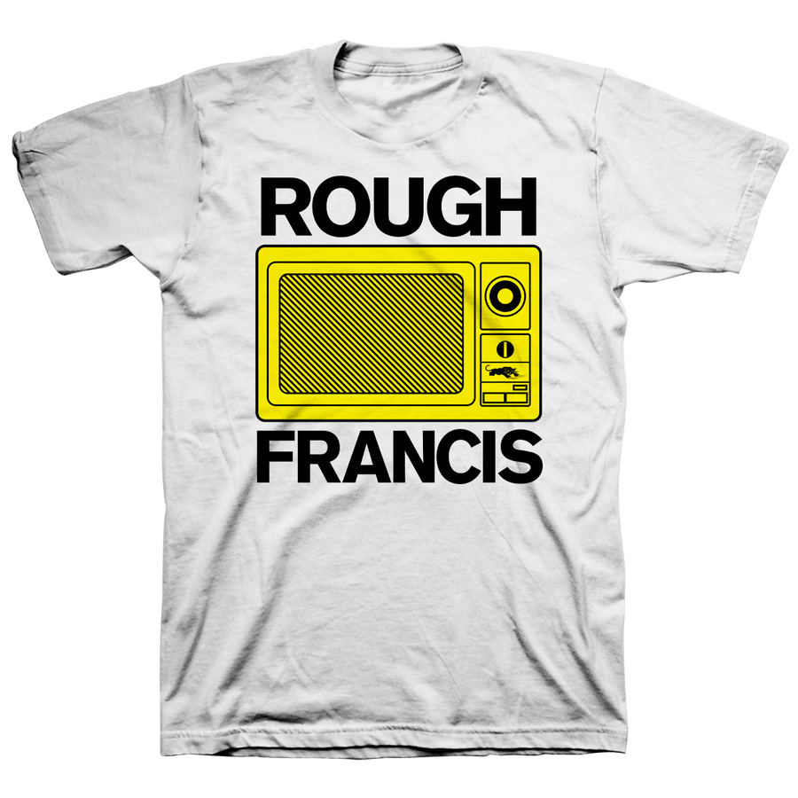"ROUGH FRANCIS ""Microwave"" White T-Shirt"