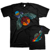 "THOMAS HOOPER ""To The Light And The Flame"" Black T-Shirt"