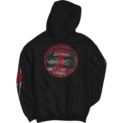 "NEUROSIS ""Wolf Lightning"" Black Hooded Sweatshirt"