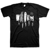 "ALL PIGS MUST DIE ""Cleaver"" Black T-Shirt"