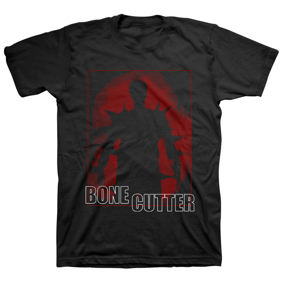 "BONE CUTTER ""Demon"" Black T-Shirt"