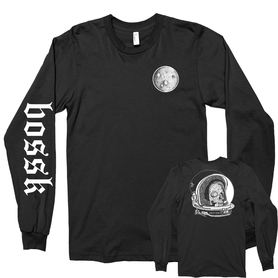 "BOSSK ""Spaceman"" Black Longsleeve"