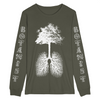 "BOTANIST ""Photosynthesis"" Dark Green Longsleeve"