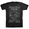 "CHURCH ROAD ""Logo Grey"" Black T-Shirt"