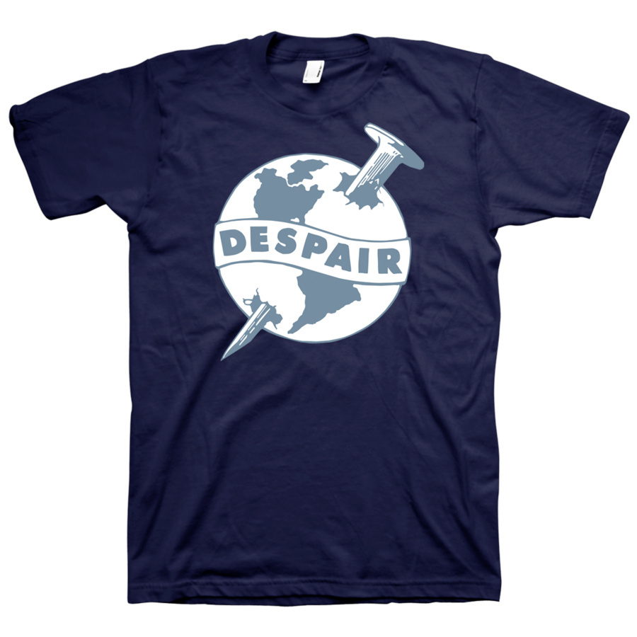 "DESPAIR ""Earth"" Navy T-Shirt"