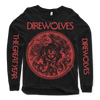 "DIREWOLVES ""Snakes"" Longsleeve-Throatruiner Records-Deathwish Inc Europe"