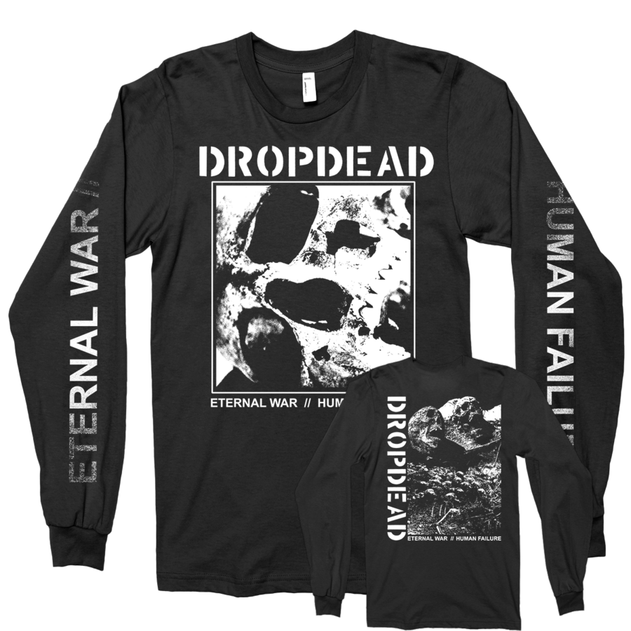 "DROPDEAD ""Eternal War"" Black Longsleeve"