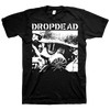 "DROPDEAD ""Gas Mask"" Black T-Shirt"