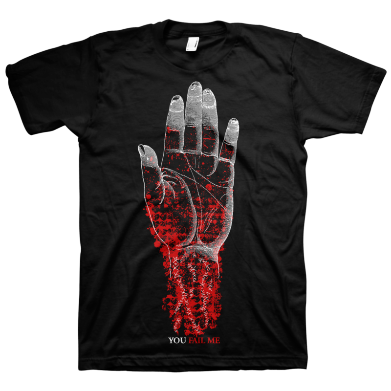 "CONVERGE ""You Fail Me"" Black T-Shirt"
