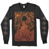 "RICHEY BECKETT ""Earth: Gradient"" Charcoal Black Longsleeve"