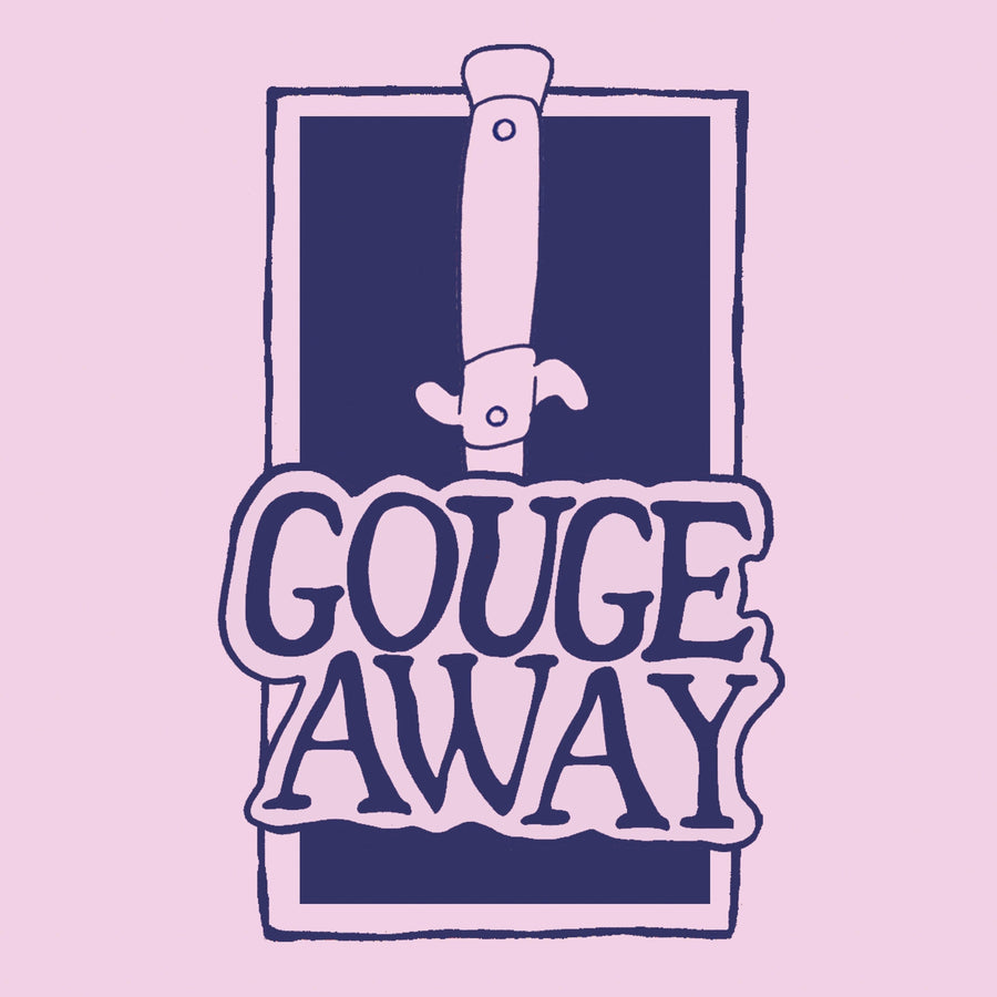 "GOUGE AWAY ""Swallow b/w Sweat""-Secret Voice-Deathwish Inc Europe"