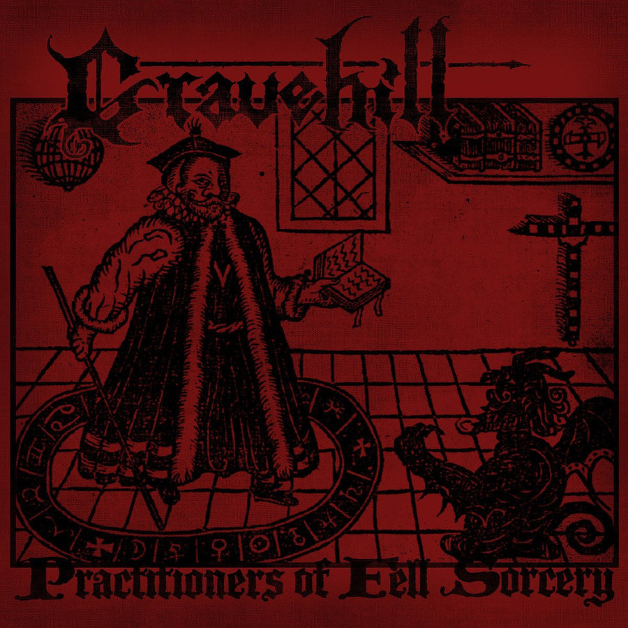 "GRAVEHILL ""Practitioners Of Fell Sorcery""-A389 Recordings-Deathwish Inc Europe"