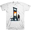 "NICK PYLE ""Guillotine"" White T-Shirt"
