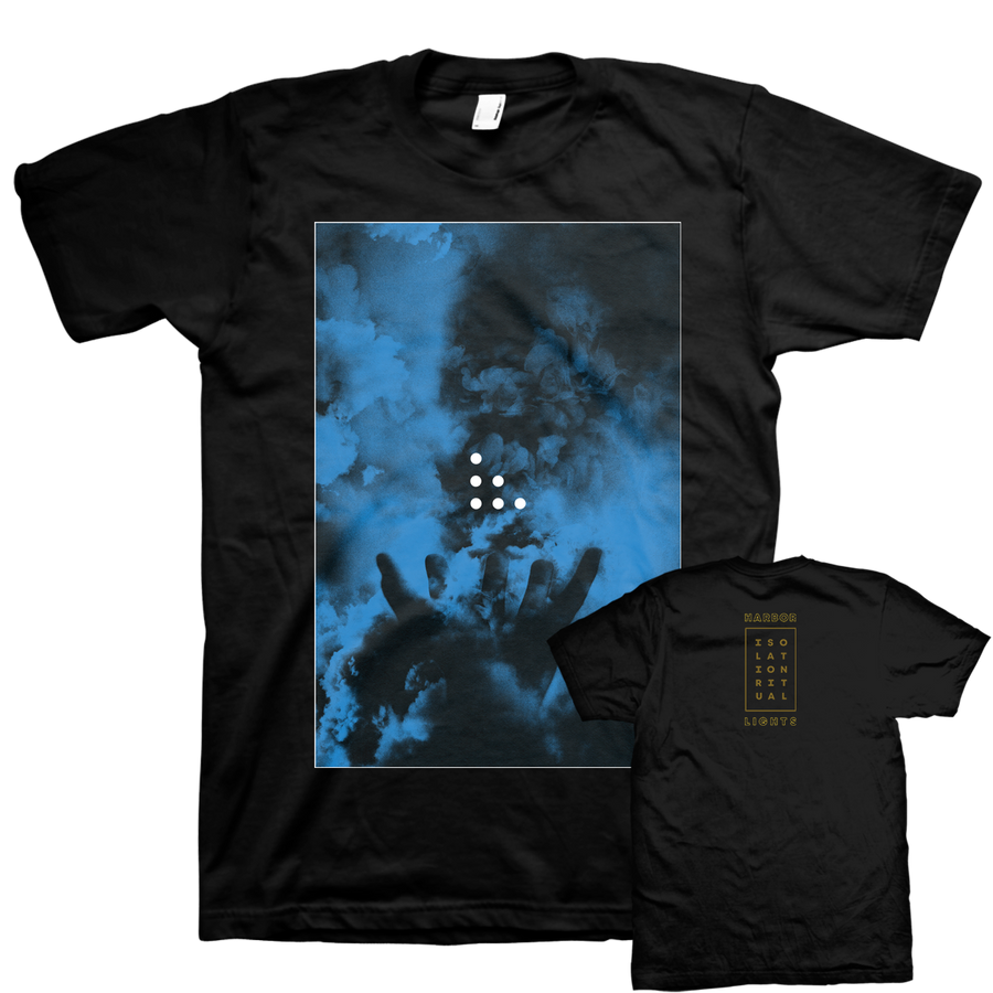 "HARBORLIGHTS ""Isolation Ritual"" Black T-Shirt"