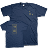 "HARBORLIGHTS ""Logo"" Navy Blue T-Shirt"