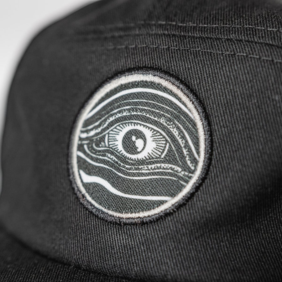 "THOMAS HOOPER ""Eye"" Black 5-Panel Hat"