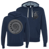 "THOMAS HOOPER ""Beginning To End"" Navy Blue Hooded Sweatshirt"