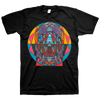 "THOMAS HOOPER ""Geo Skull"" Black T-Shirt"