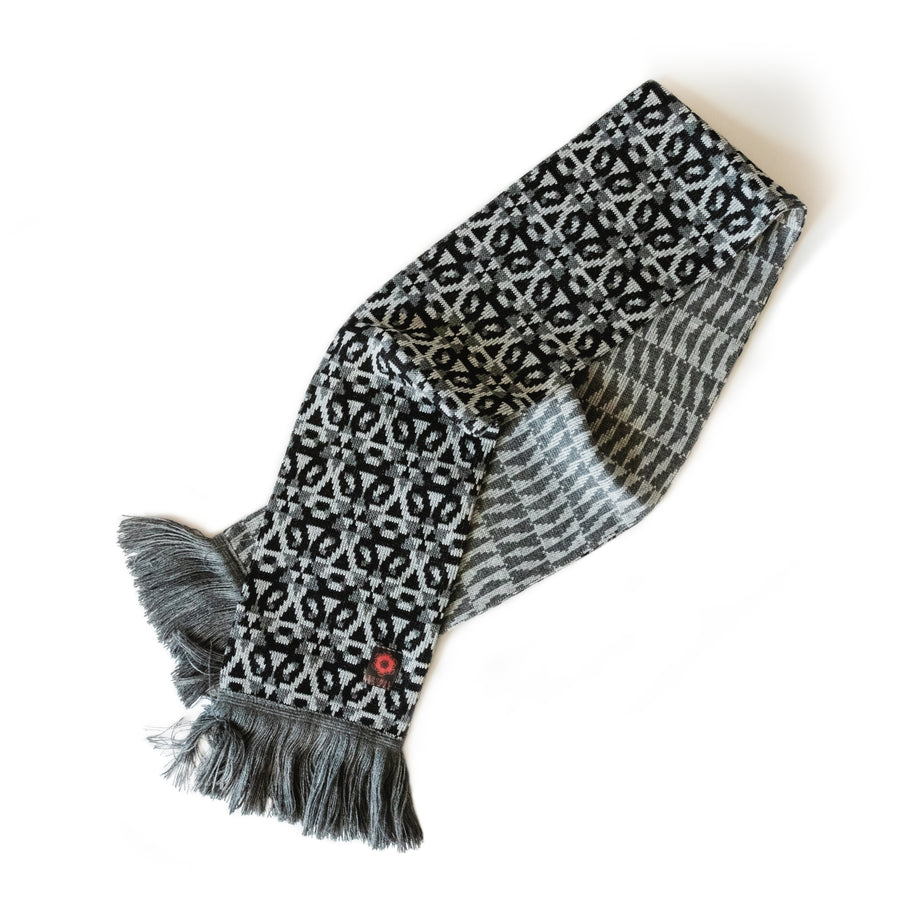 "THOMAS HOOPER ""Angular Momentum"" Scarf"