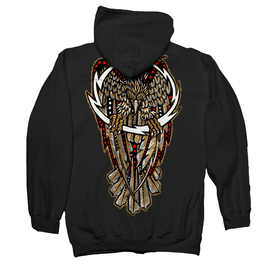 "DENNIS MCNETT ""Thunder Eagle"" Hooded Sweatshirt"