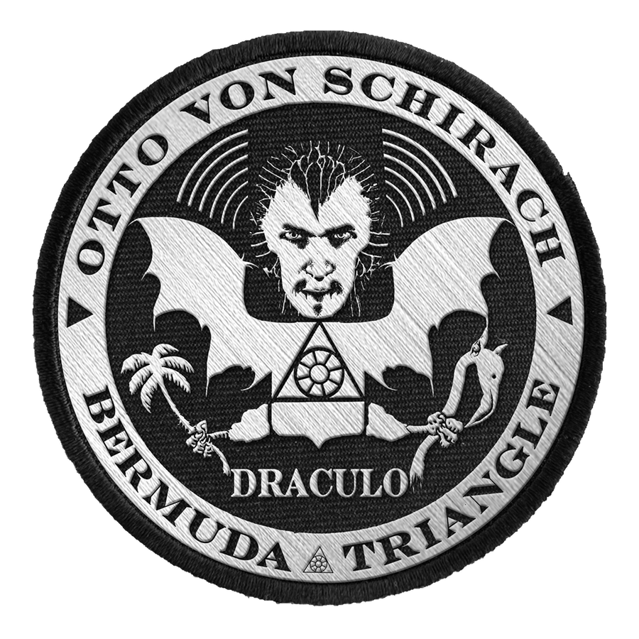 "OTTO VON SCHIRACH ""Draculo"" Embroidered Patch"
