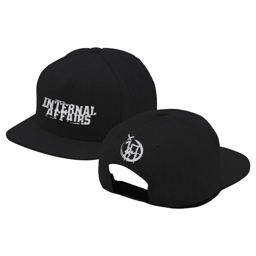 "INTERNAL AFFAIRS ""Logo"" Black Hat"