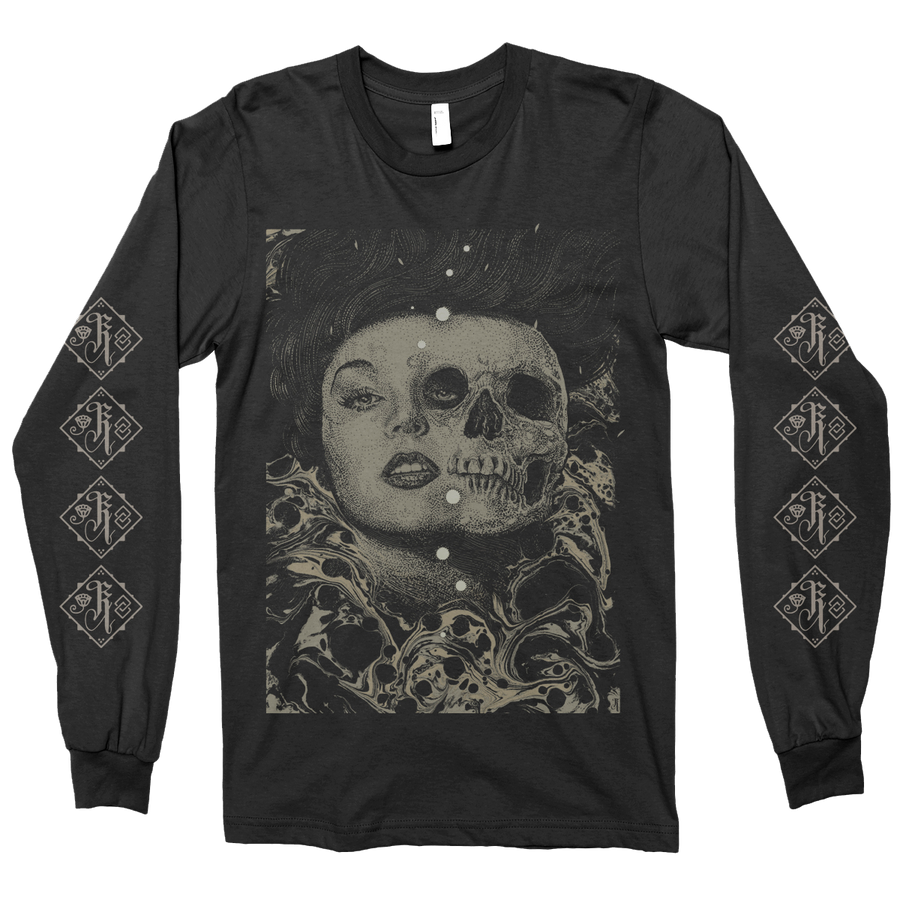 "RICHEY BECKETT ""Lilith"" Charcoal Black Longsleeve"