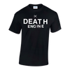 "DEATH ENGINE ""Logo"" Black T-Shirt"