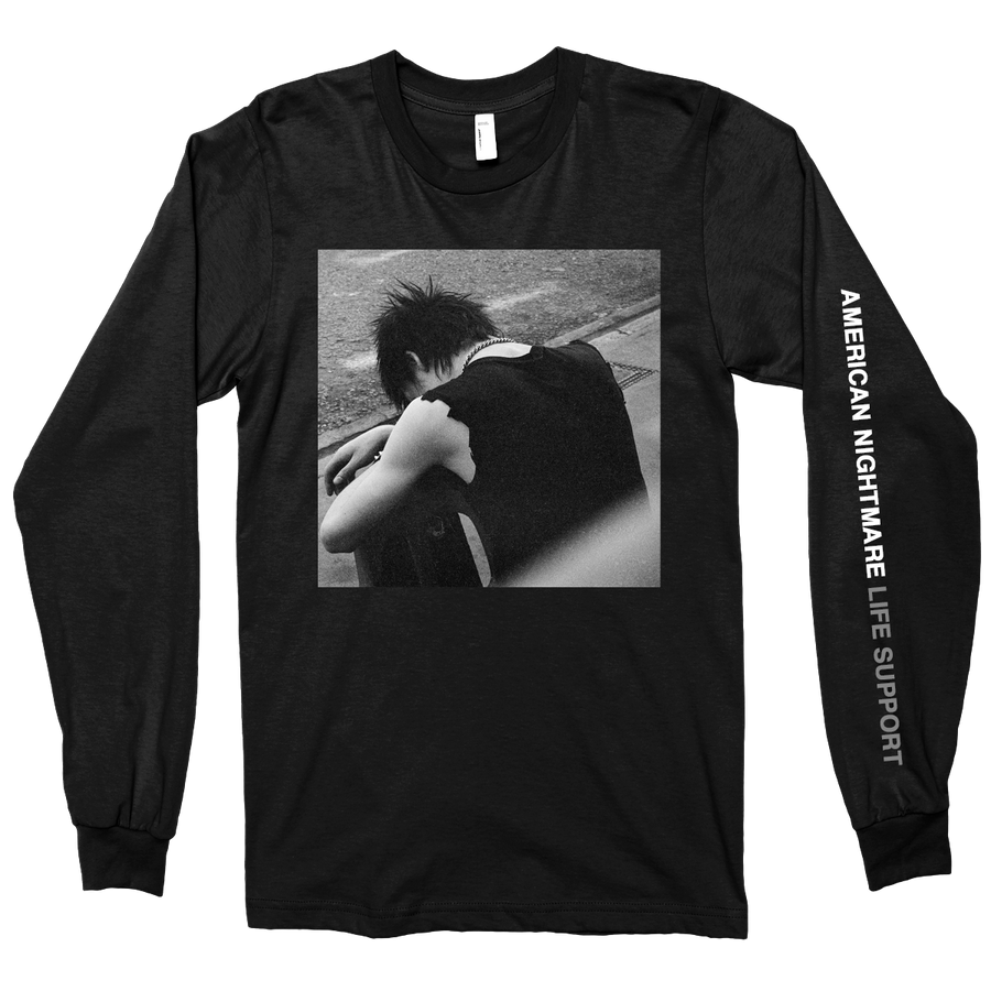 "AMERICAN NIGHTMARE ""Life Support"" Black Longsleeve"