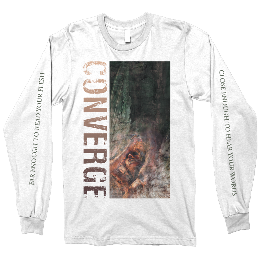 "CONVERGE ""Unloved And Weeded Out"" White Longsleeve"