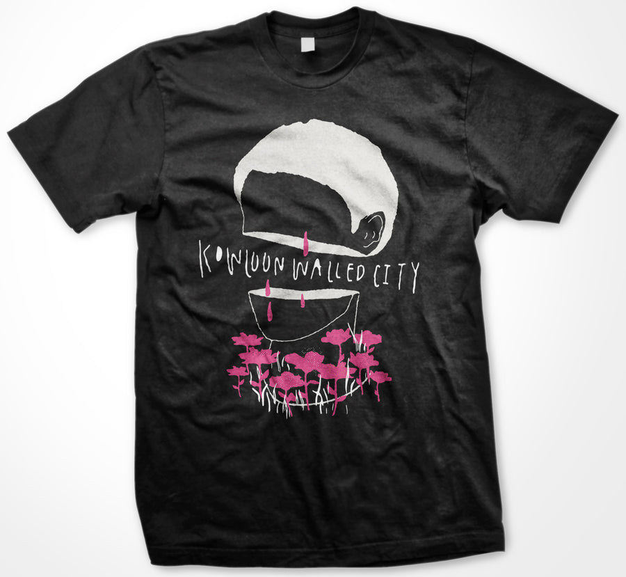 "KOWLOON WALLED CITY ""Hang Your Head"" Black T-Shirt"