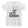 "THE FLENSER ""Logo"" White T-Shirt"