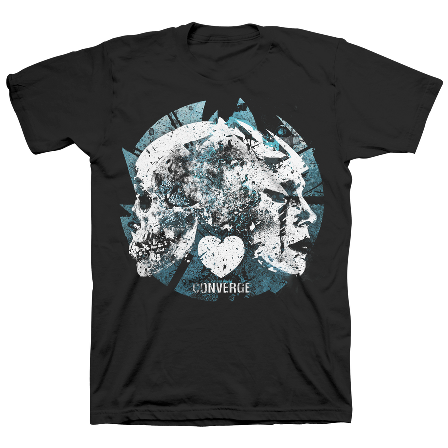 "CONVERGE ""On My Shield"" Black T-Shirt"