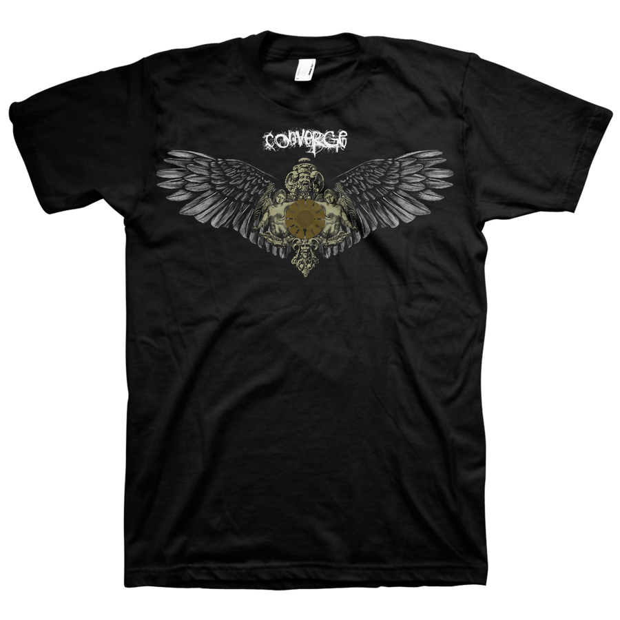 "CONVERGE ""Wings"" Black T-Shirt"