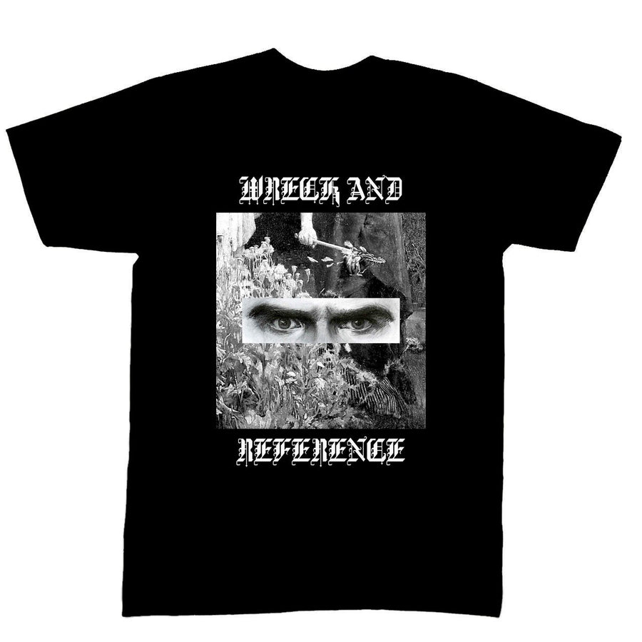 "WRECK AND REFERENCE ""Poppies"" Black T-Shirt"