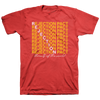 "REJECTION PACT ""Threats Of The World"" Red T-Shirt"