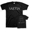 "SAETIA ""Form Letter"" T-Shirt-Secret Voice-Deathwish Inc Europe"