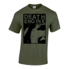 "DEATH ENGINE ""Scream"" Olive T-Shirt"