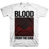 "BLOOD FROM THE SOUL ""Event Horizon"" White T-Shirt"