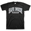 "SAFE INSIDE ""2020 Logo"" Black T-Shirt"