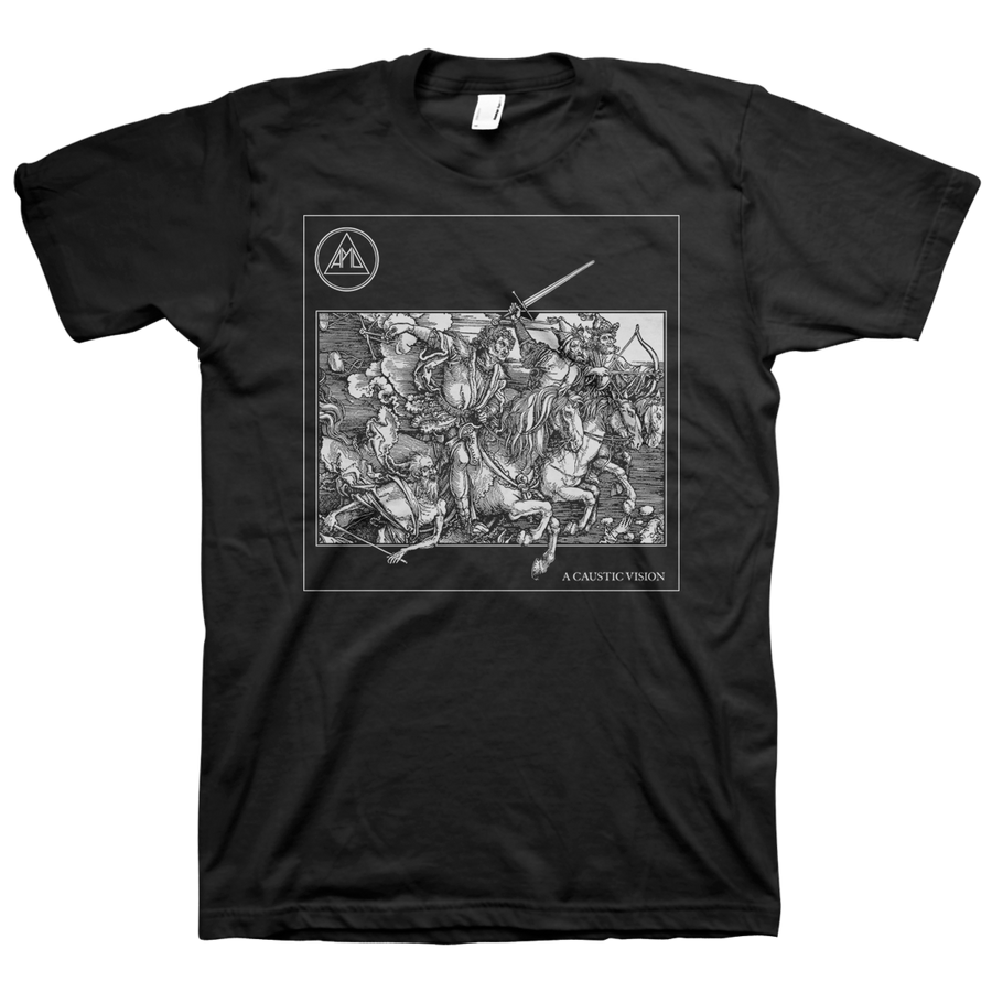 "ALL PIGS MUST DIE ""A Caustic Vision"" Black T-Shirt"