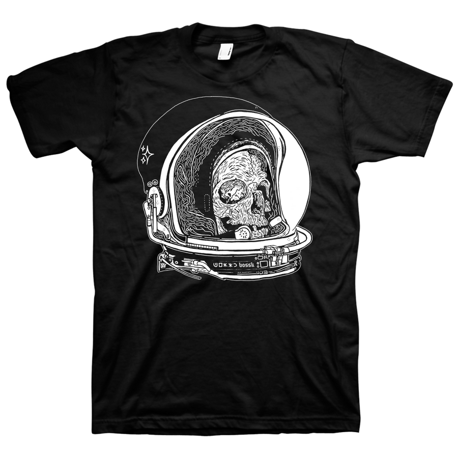 "BOSSK ""Spaceman"" Black T-Shirt"