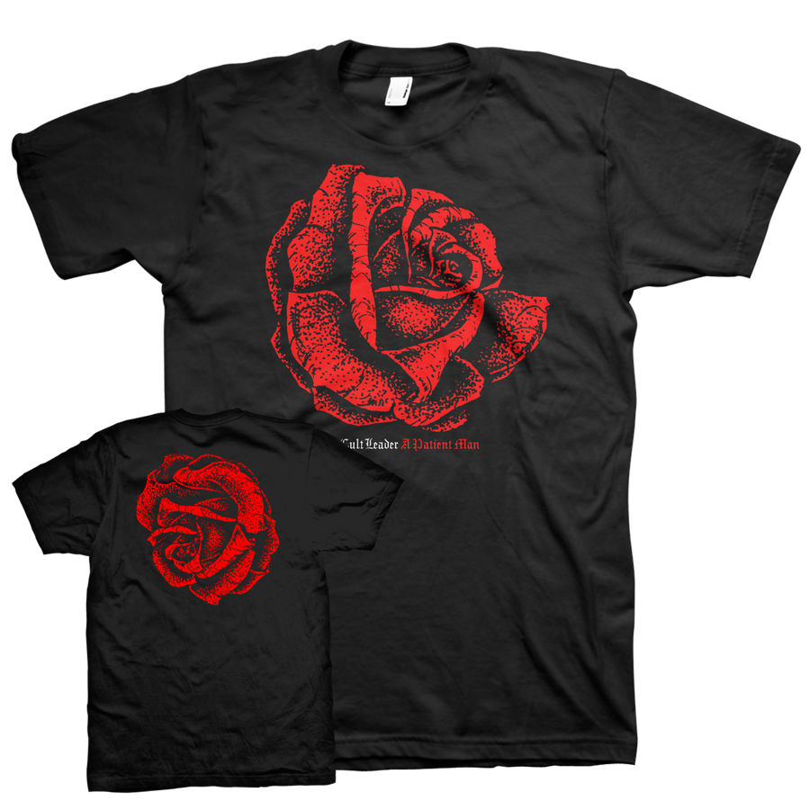 "CULT LEADER ""Rose"" Black T-Shirt"
